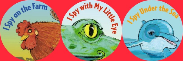 I Spy books by Edward Gibbs